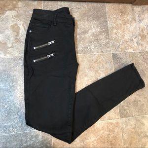 Buffalo David Bitton black skinny jeans